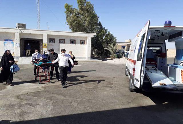 جان مادر ۹۲ ساله به دستان نجاتبخش کارشناسان اورژانس خرمشهر
