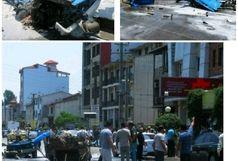 انفجار خودرو نیسان  مرگ 2 نفر را رقم زد