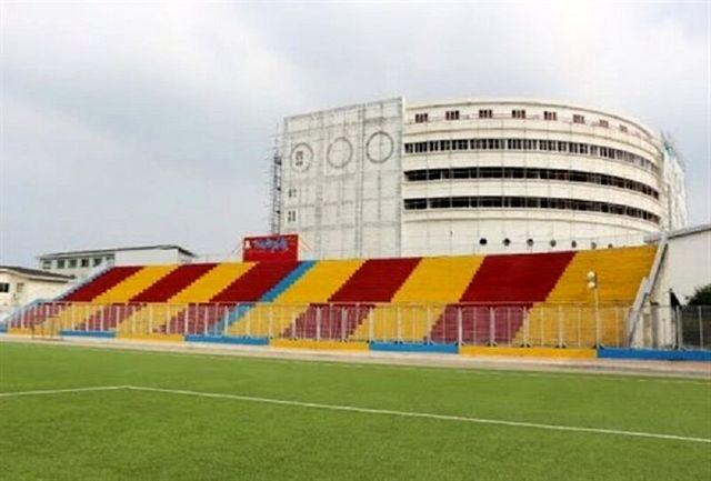 نساجی نمیتواند در ورزشگاه وطنی بازی کند+ عکس