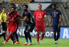 حسینی بهترین بازیکن میدان شد