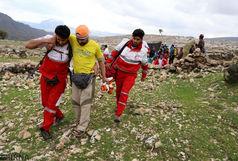 نجات سه کوهنورد در ارتفاعات کوه سرخ