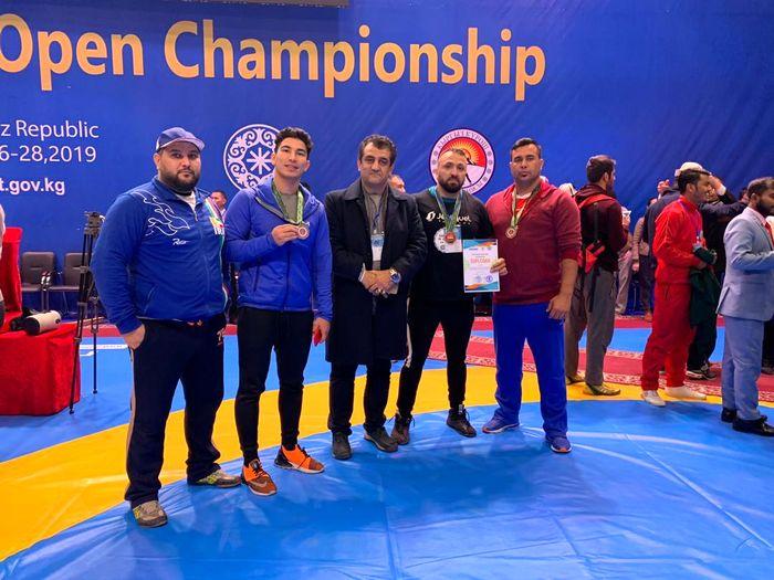 تیم ایران به 3 مدال برنز دست یافت