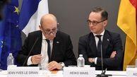 گفتوگوی برجامی وزاری خارجه آلمان و فرانسه