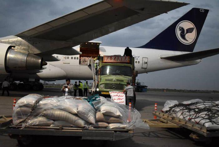 چهارمین محموله کمکرسانی ارتش به مناطق سیل زده سیستان و بلوچستان ارسال شد