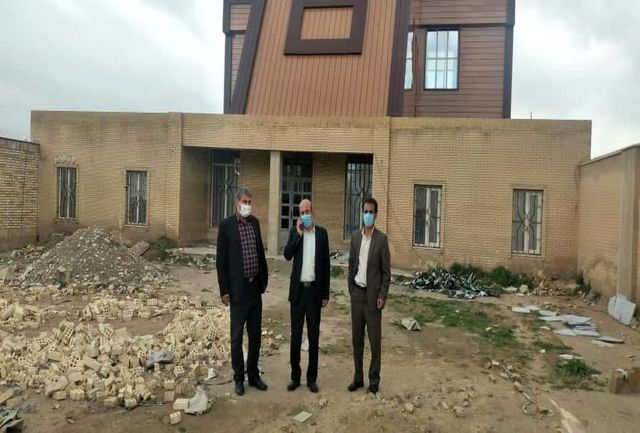 احتمال افتتاح کتابخانه عمومی شماره 2 پلدختر  تا پیش از خرداد ماه 1400
