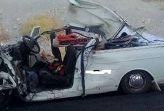 2 کشته در تصادف وانت با ایسوزو در محور یاسوج - اصفهان