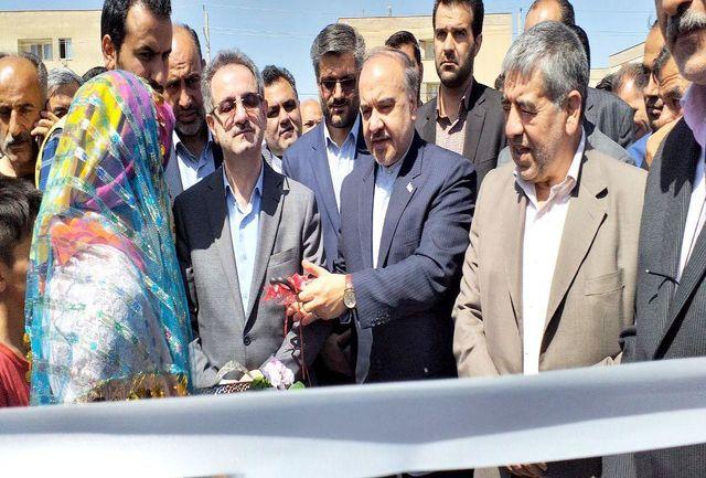 افتتاح سالن ورزشی خاتونآباد پاکدشت
