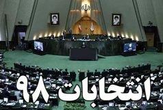 اسامی داوطلبان انتخابات مجلس در حوزه انتخابیه  استان ایلام