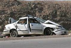 تصادف رانندگی در زنجان ۲ کشته برجا گذاشت