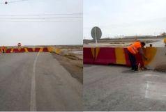 جاده بندرامام - شادگان بسته شد
