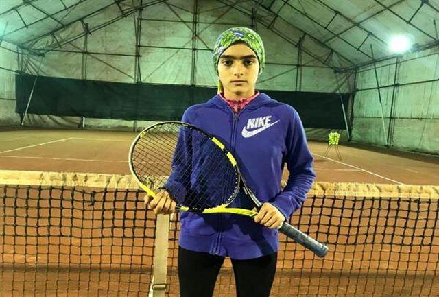 قهرمانی درسا چراغی در مسابقات تنیس تور آسیا