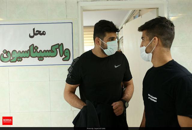 واکسیناسیون کاروان المپیک ایران/ ببینید