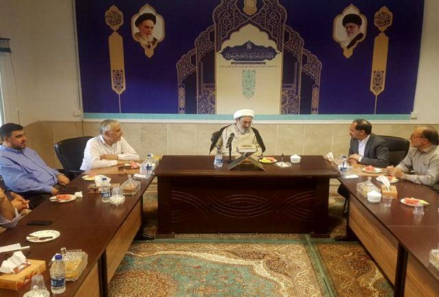 دیدار شهردار نبطیه با تولیت مسجد مقدس جمکران