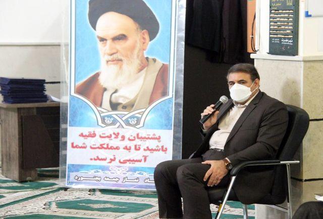 برگزاری شایسته مراسم نیمه خرداد با رعایت پروتکل های بهداشتی