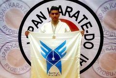 کسب 3 مدال توسط دانشجوی دانشگاه آزاد در مسابقات بینالمللی سبک شوتوکان