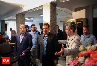 روز خبرنگار با حضور مسئولان وزارت ورزش و جوانان در برنا / ببینید