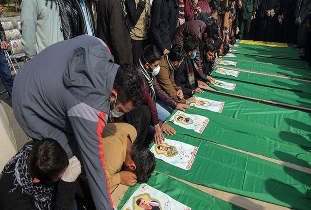 امروز تشییع پیکر 15 شهید مدافع حرم در قم برگزار شد