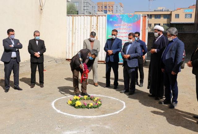 مراسم کلنگ زنی پایگاه سلامت شهری جواد الائمه (ع) شبکه بهداشت و درمان قدس
