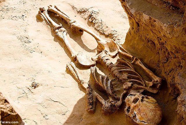 کشف اسکلت دو هزار ساله شاهزاده ایرانی