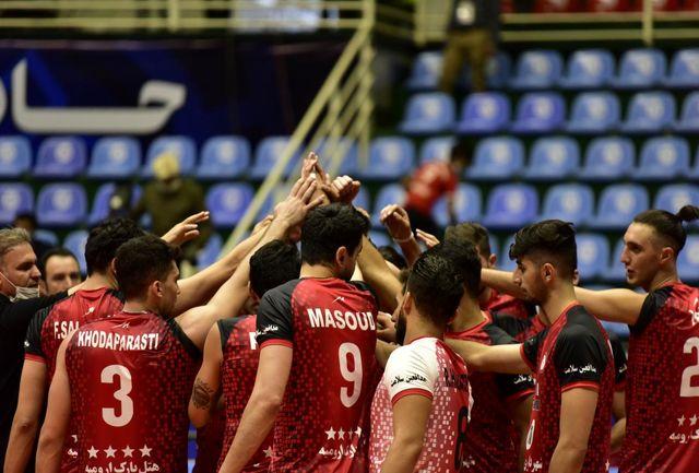 شهرداری ارومیه، لیگ برتر والیبال را با شکست آذرباتری آغاز کرد