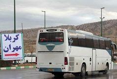 ترافیک در مرز مهران شدت گرفته است