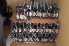 ۸۰۰ لیتر الکل قاچاق در البرز کشف شد