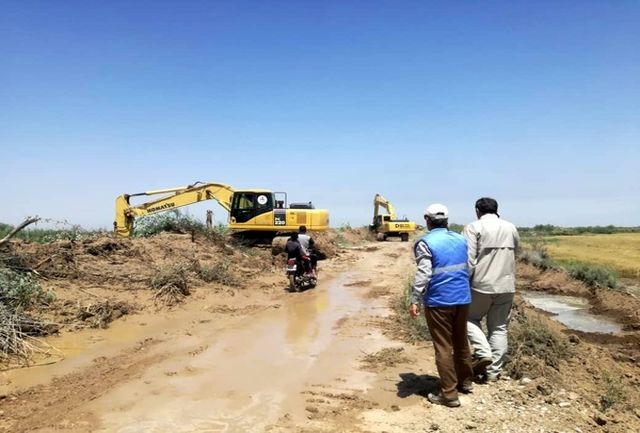 کانال انحراف آب سلمان به ملاشیه بسته شد