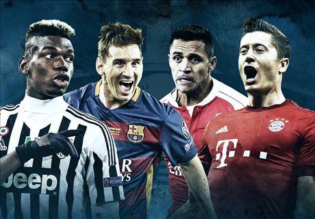برنامه بازیهای مرحله حذفی لیگ قهرمانان اروپا مشخص شد