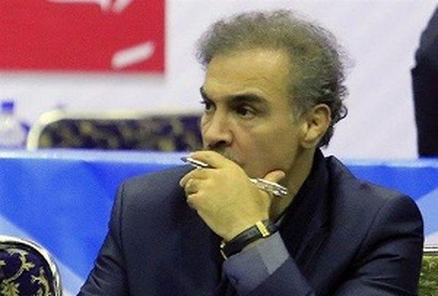 خیرآبادی به عنوان سرپرست مسابقات معرفی شد