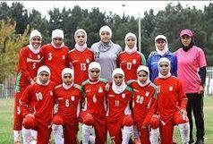 2 بانوی فوتبالیست قزوینی حاضر شدند