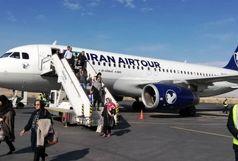 اولین پرواز شرکت هواپیمایی ایرتور به زمین نشست