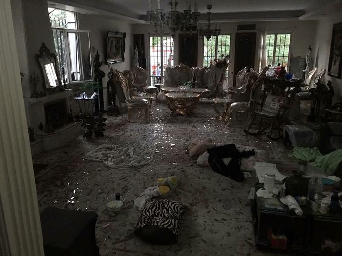 انفجار مهیب در شهرک غرب تهران+ عکس