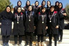 قهرمانی تیم فوتسال دختران دانشگاه ایلام در مسابقات قهرمانی فوتسال دانشگاه های منطقه 5 کشور