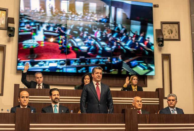 مشارکت احزاب در تشکیل کابینه نهم کردستان عراق
