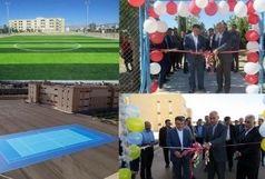 دو طرح ورزشی دانشگاه دامغان به بهرهبرداری رسید
