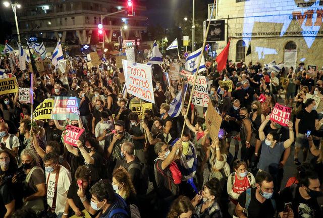 اشغالگران علیه نتانیاهو!/غزه بلای جان نخست وزیر جنایتکار شد+جزییات