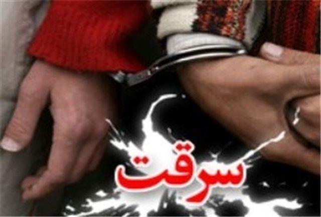 سارقان 4 میلیاردی صرافی دستگیر شدند