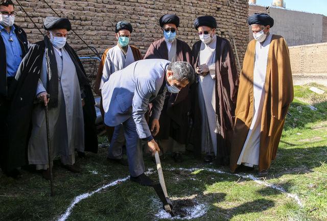 کلنگ احیای مسجد جامع سید «یاعلی» بر زمین زده شد