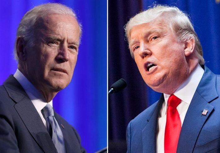 جو بایدن از دونالد ترامپ پیش افتاد