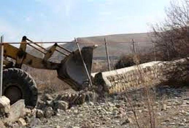 248 هزار متر مربع از اراضی ملی استان کردستان از دست متصرفین خارج شد