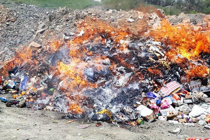 معدوم سازی بیش از ۲۵ تن موادغذایی فاسد در سیستان و بلوچستان