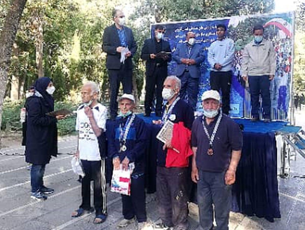 پیش کسوتان ورزش همگانی قزوین صاحب 9 مدال کشوری شدند
