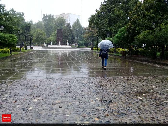 بارش باران در برخی از استانهای تهران