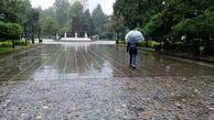 تهران بارانی میشود