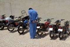 استفاده ابزاری از یک حسینیه برای سرقت و اوراق موتور سیکلت !