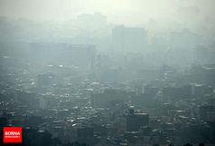 هوای تبریز در وضعیت ناسالم