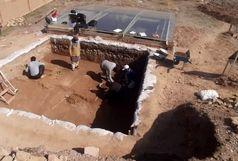 فصل جدید کاوشهای باستانشناسی در محوطه خلهکوه تاکستان آغاز شد