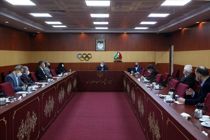 شصت و یکمین نشست هیات اجرایی کمیته ملی المپیک برگزار شد