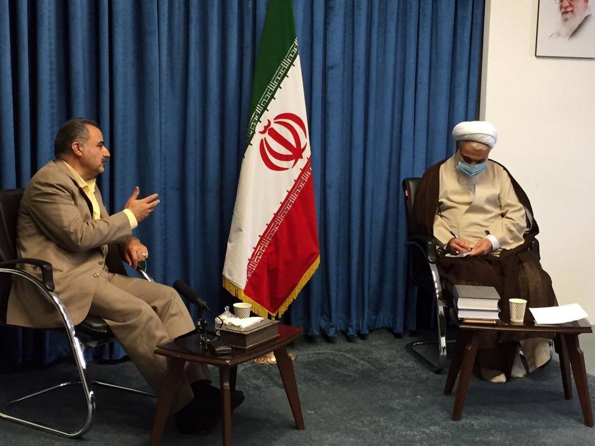 رئیس سازمان جوانان جمعیت هلال احمر با امام جمعه قزوین دیدار و گفتگو کرد