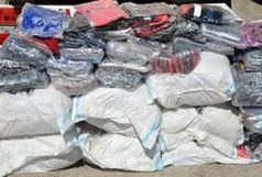 کشف و ضبط دوهزار ثوب پوشاک قاچاق در ایجرود/ ارزش محموله سیصد میلیون ریال می باشد